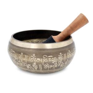 Campana tibetana lega metalli - Teos
