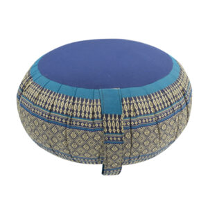 Cuscino zafu per meditazione e yoga in kapok teos